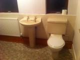 Bathroom Install Before